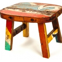 boat-wood-stool-table-small 1